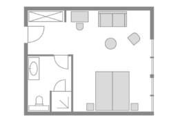 Zimmer 04 Haussperling