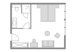 Zimmer 05 Eisvogel