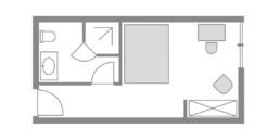 Zimmer 10 Rotkehlchen